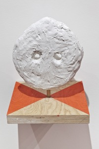 plaster and wood, 35 x 30 x 30 cm, 2011.